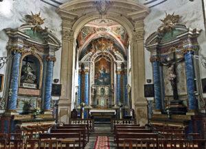 Mosteiro de Celas - Altar-Mor da Igreja