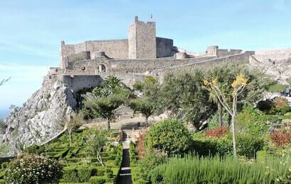 Castelo do Marvão, no Alto Alentejo, Portugal