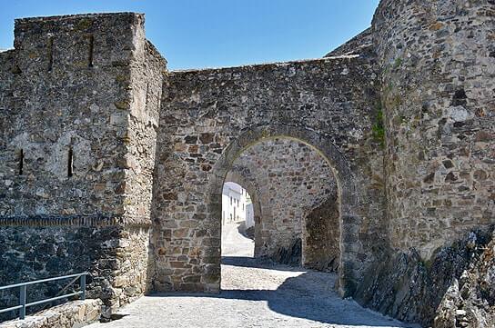 Entrada do Castelo do Marvão