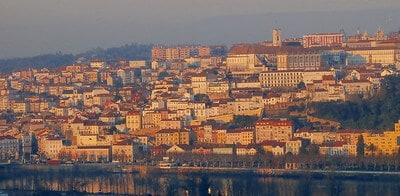 Coimbra vista a partir do Miradouro do Vale do Inferno