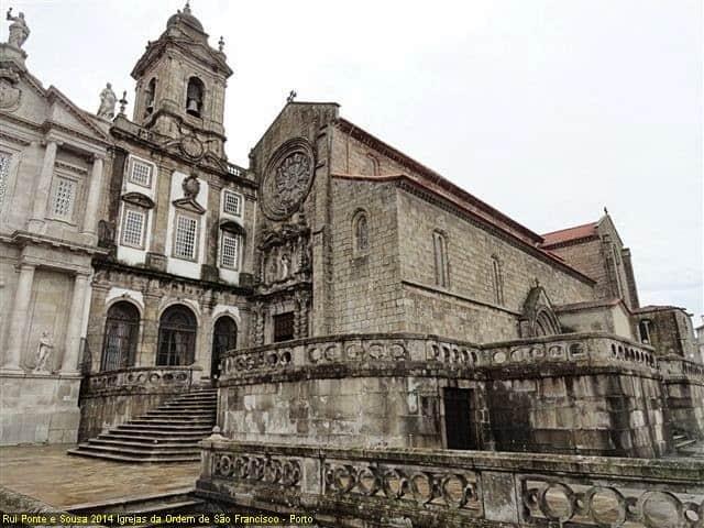 Igreja de São Francisco de Assis no Porto - Vista exterior