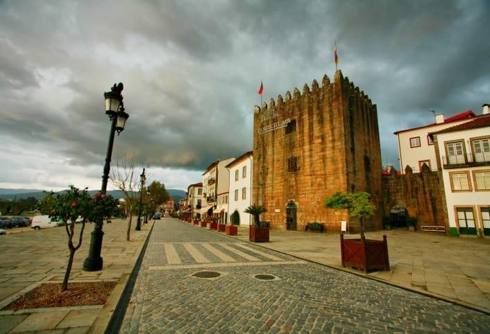 Torre da Cadeia Velha em Ponte de Lima (distrito de Viana do Castelo)