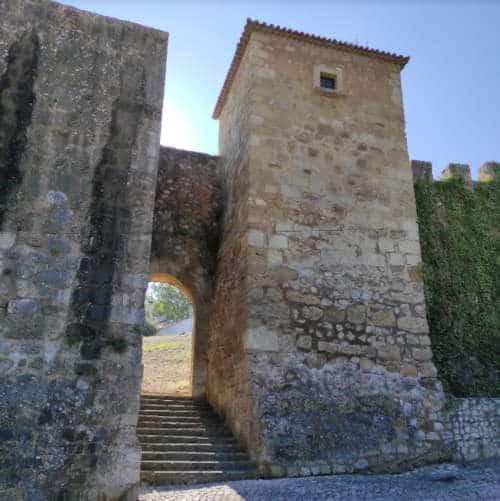 Torre da Couraça - Entrada principal do castelo