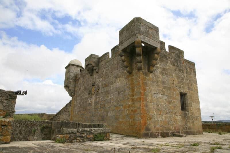 Torre da Roqueta no Castelo de Santiago da Barra